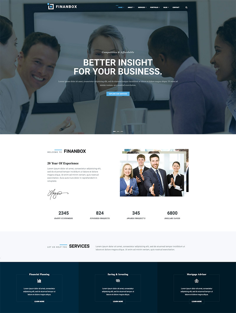 business corporate responsive