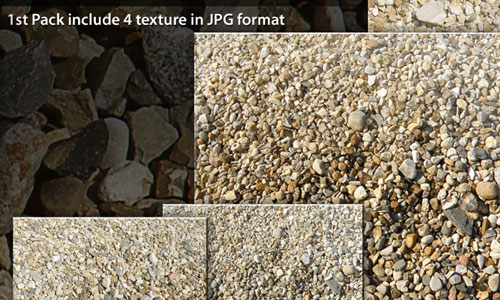 Packed Gravel Texture