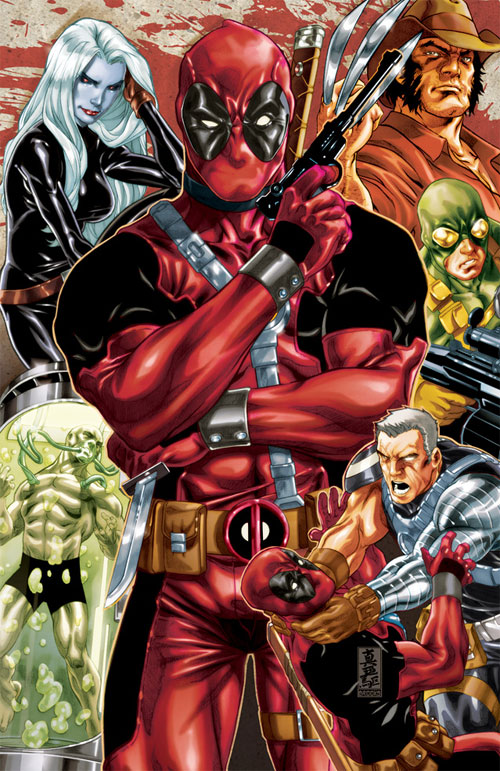 Deadpool origins cover