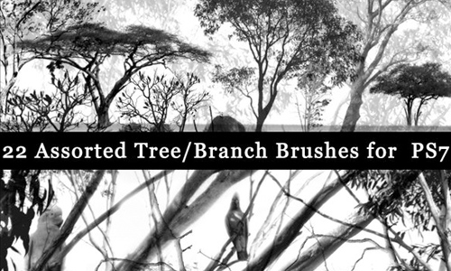 Tree and branch brushes