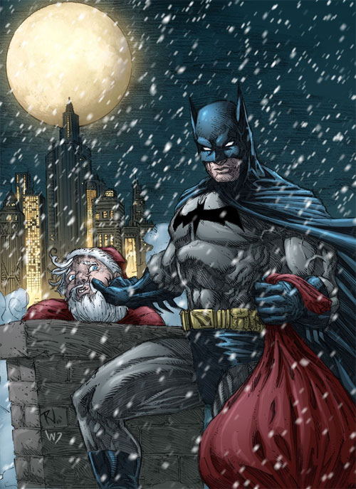 Batman X-mas Colored