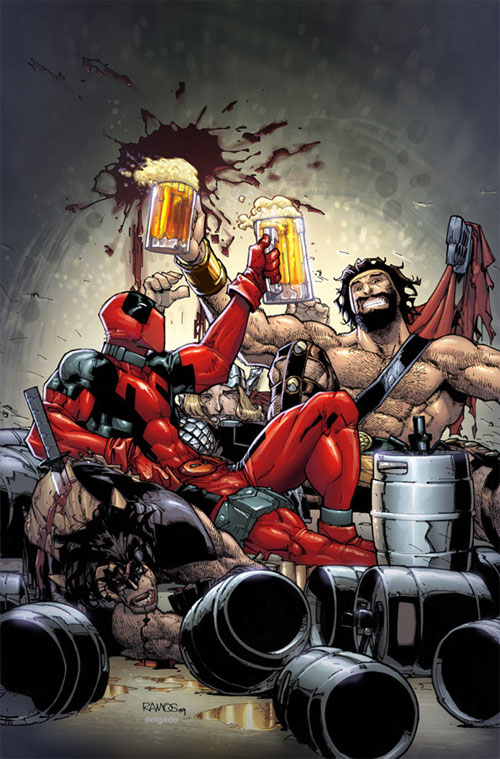 Deadpool team up cover