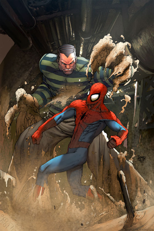 Sandman and Spiderman
