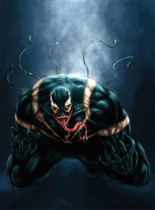 venom colored