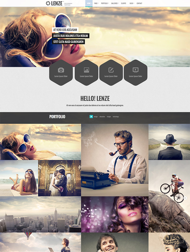 wordpress css3 theme