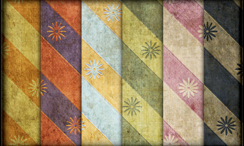 Grungy Tileable Vintage Patterns