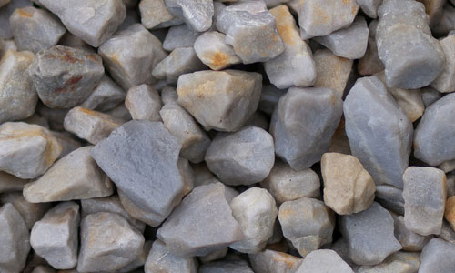 Smooth Bunch of Gravel Texture