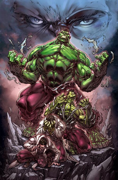 Furious hulk