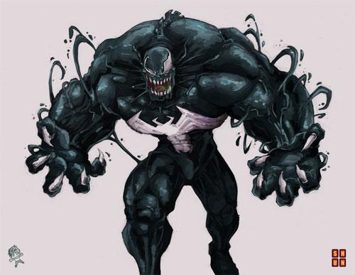 here comes venom