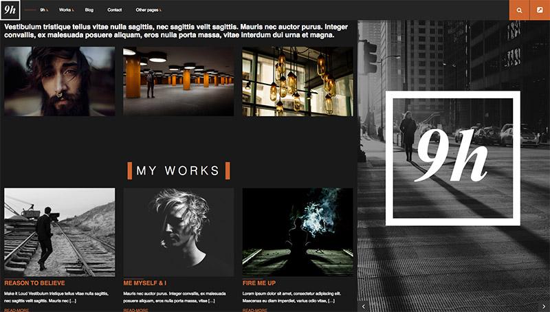 blog portfolio themes