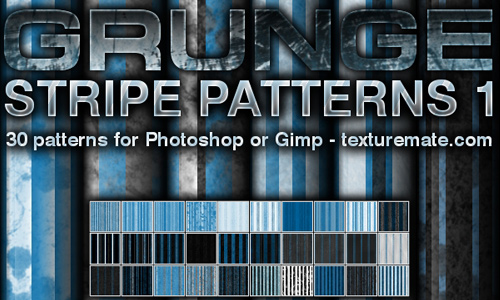 Grunge Stripe Patterns