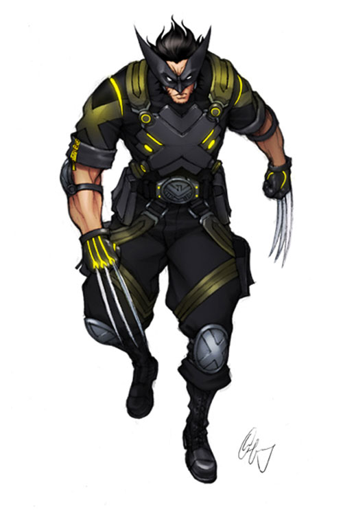 Wolverine Looking Sharp 1