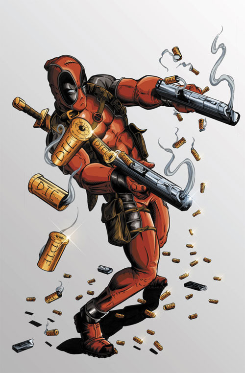 Deadpool Coloured