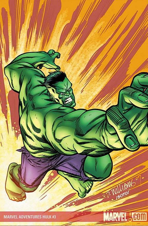 Latest Hulk cover