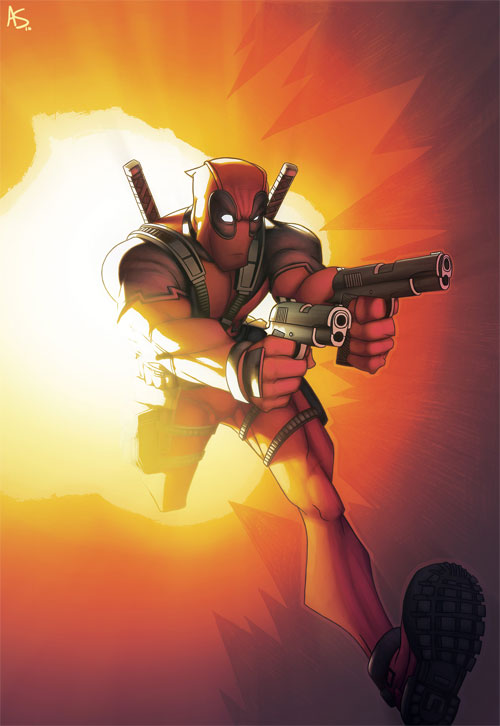Deadpool Cover 2