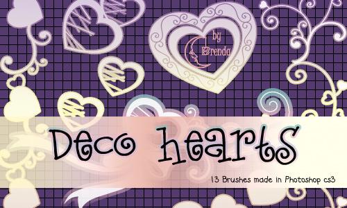 Decprative Hearts