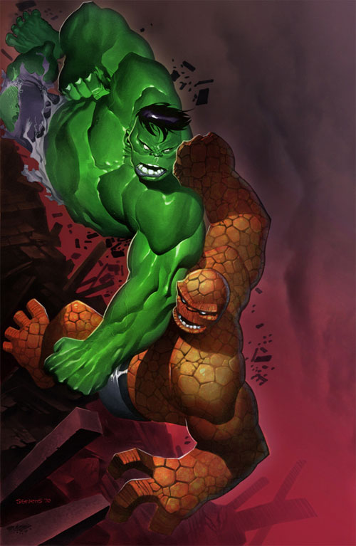 Hulk vs Thing Colors