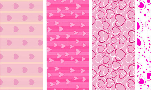 Heart Pattern Backgrounds
