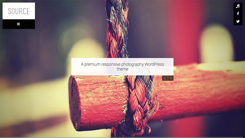 photographers theme wordpress