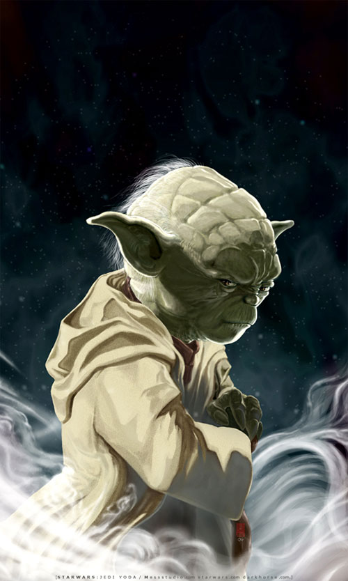 UNSHEATHED-a portrait of Yoda