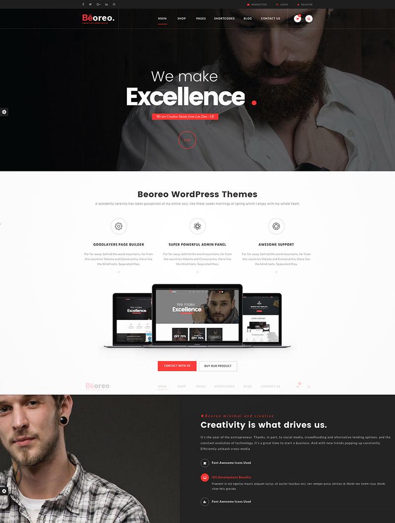 multipurpose creative wordpress