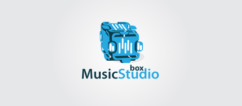 music studio box