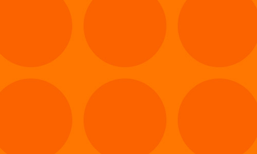 orange circle patterns