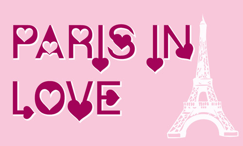 paris love fonts