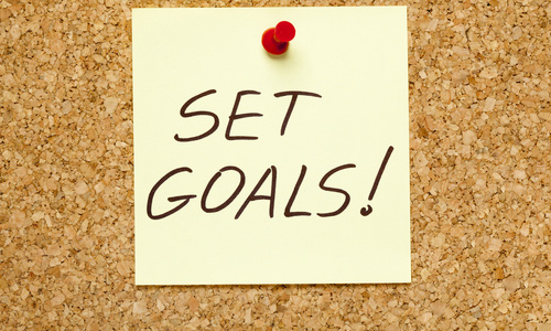 Set goals and benefits
