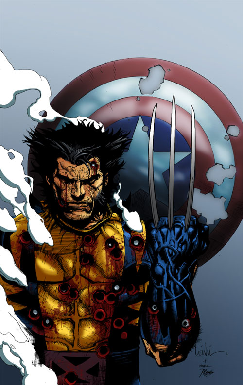 Fallen Son Wolverine colored