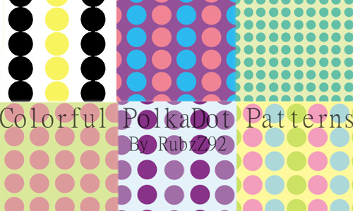 Colorful Polkadot Patterns