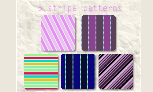 5 Stripe Patterns