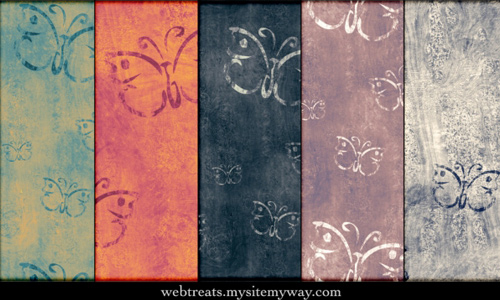 Antique Butterfly Patterns