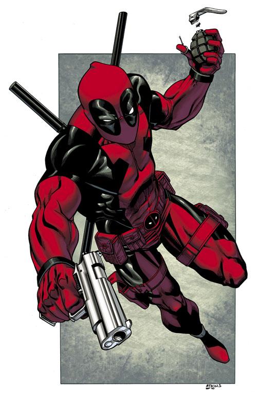 Deadpool commission colors