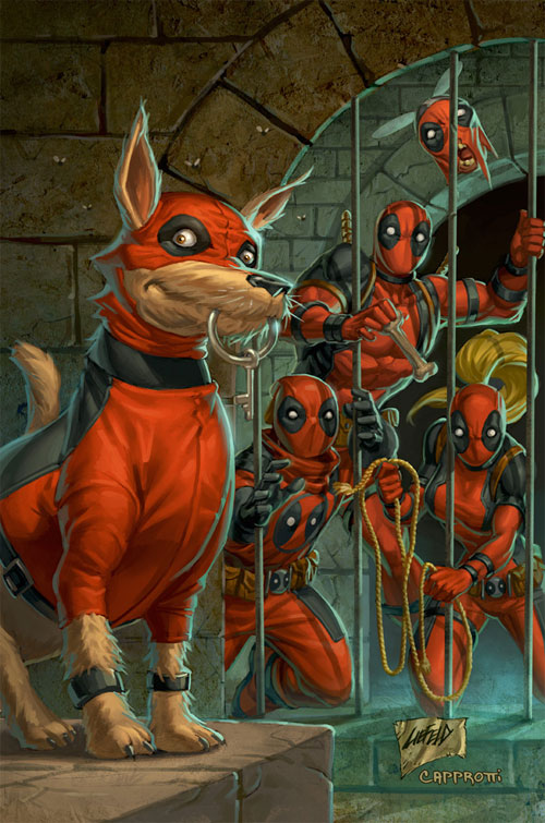 Deadpool Corps 3 Cover