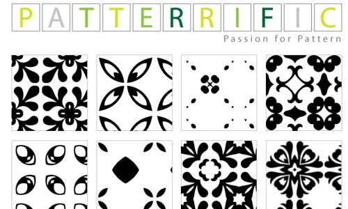 Cool Set of Black and White Patterns