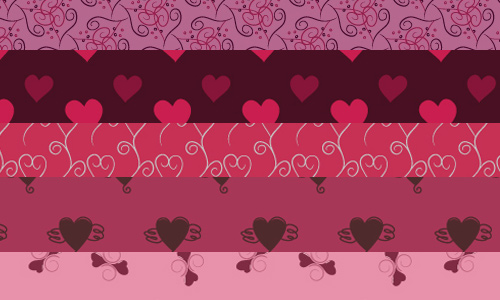 10 Valentines Day Heart Pattern