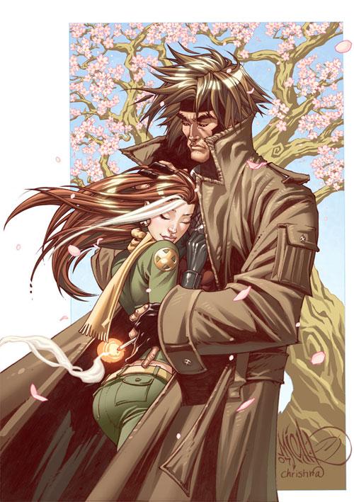 Gambit Rogue cherry blossom