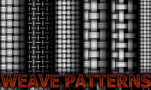 Artistic Set of Black and White Patterns