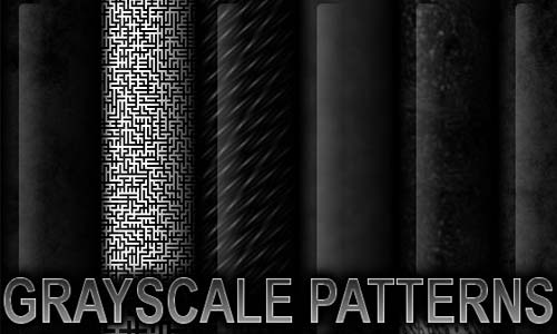 Fantastic Set of Black and White Patterns