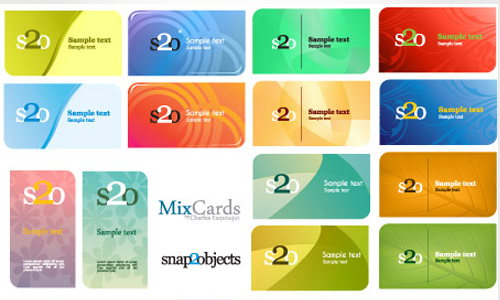 Free Vector Business Card Templates Image Collections Template