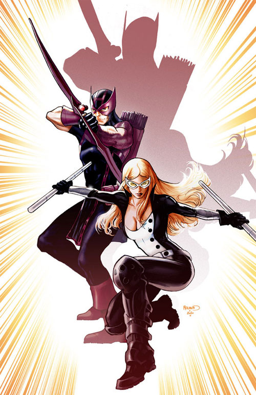 Hawkeye and Mockingbird cover