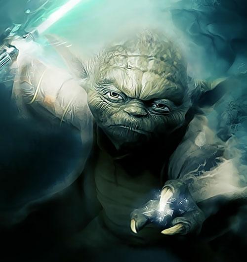 Yoda Large Art
