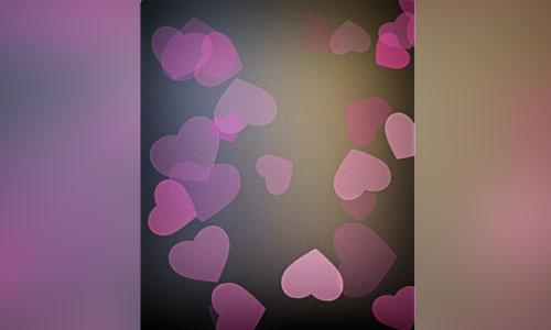 Decorative Heart Frame Brushes