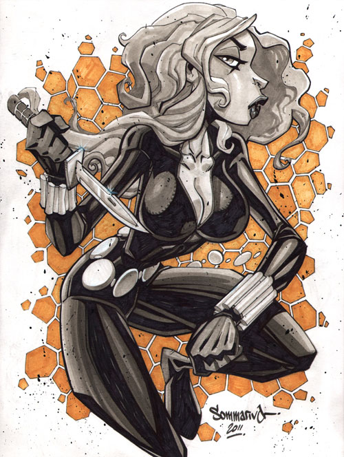 Black Widow :: sketch 05