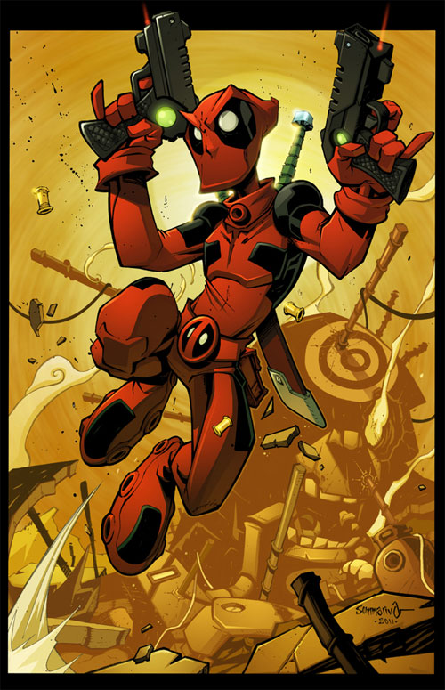 Deadpool Junkyard Jump