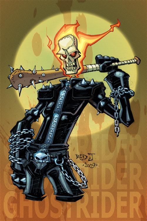 OC2 sketch 07 :: Ghost Rider