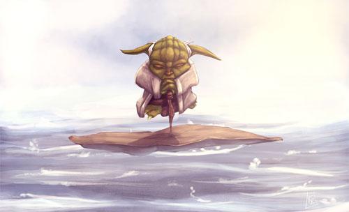 Yoda in the Mist