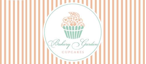 bakery cupcake logo design
