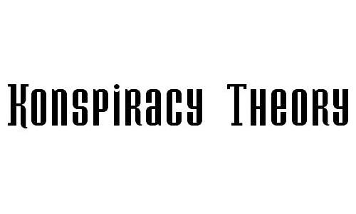 Konspiracy Theory Font